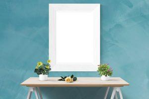 маса с огледало
